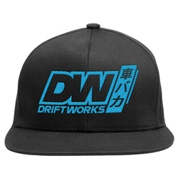 Driftworks DW Baka Black Snapback Cap