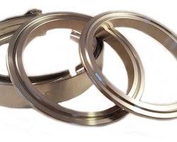 """V-band 2,5"""" (63mm) kit stål"""