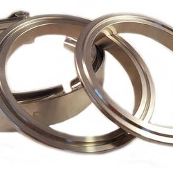 """V-band 4"""" (102mm) kit stål"""