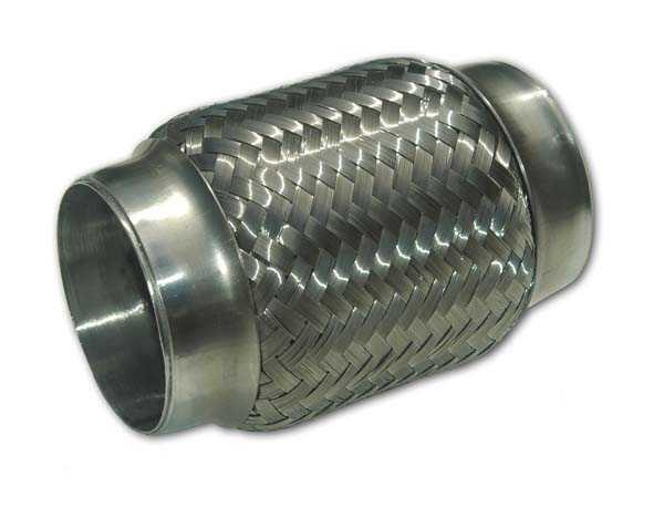 """Flexrör 2,5"""" (63,5mm) längd 150mm"""