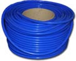 Vakuumslang silicon blå