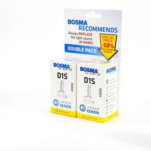 D1S4300K2 2-PACK XENONLAMPA D1S 4300K 85V 35W PK32D-2