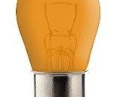 LAMPA 12V 21W BA15S ORANGE