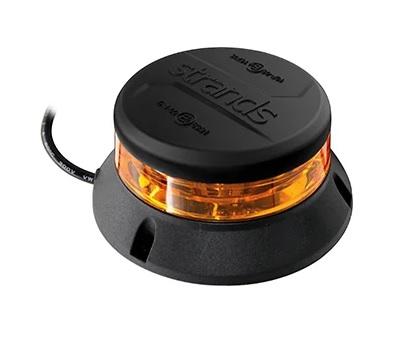 Strands AMBRA varningsljus orange LED