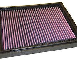 Insatsfilter K&N PORSCHE 911 H6-3.6L F/I, 1988-1994