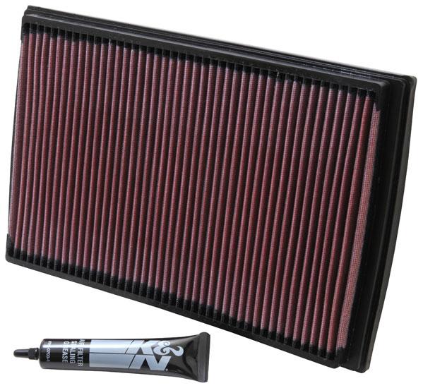 Insatsfilter K&N VOLVO S60/XC70 00-08, S80 05-06, V70 00-07