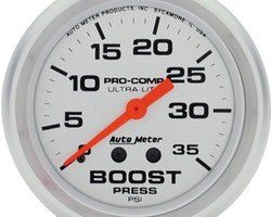 """Autometer 2-5/8"""" BOOST, 0-35 PSI"""
