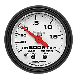 "Autometer 2-5/8"" BOOST-VAC"
