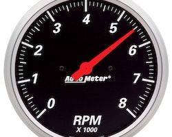 """Autometer 5"""" TACH, 8,000 RPM, IN- DASH"""