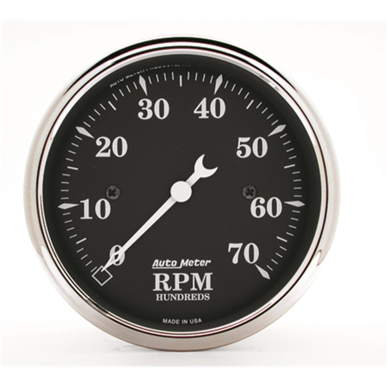 """Autometer 3-1/8"""" Varvräknare 7,000 RPM, för 4,6,8 CYL"""