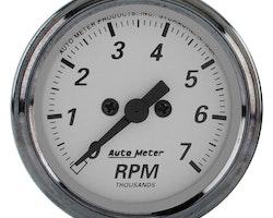 """Autometer 2"""" TACH, 7,000 RPM"""