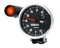 "Autometer 5"" TACH, 8,000 RPM, SHIFT-LITE"