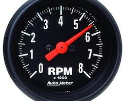 """Autometer Mini. 2"""" TACH, 8,000 RPM"""
