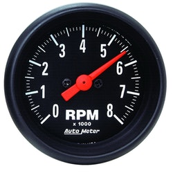 "Autometer Mini. 2"" TACH, 8,000 RPM"