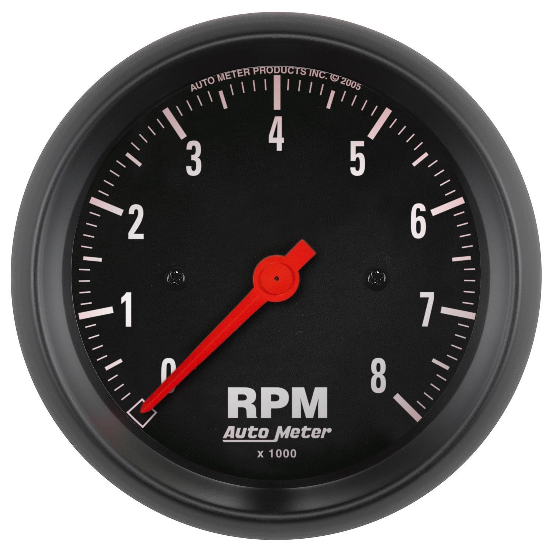 """Autometer 3-3/8"""" tach, 8,000 rpm"""