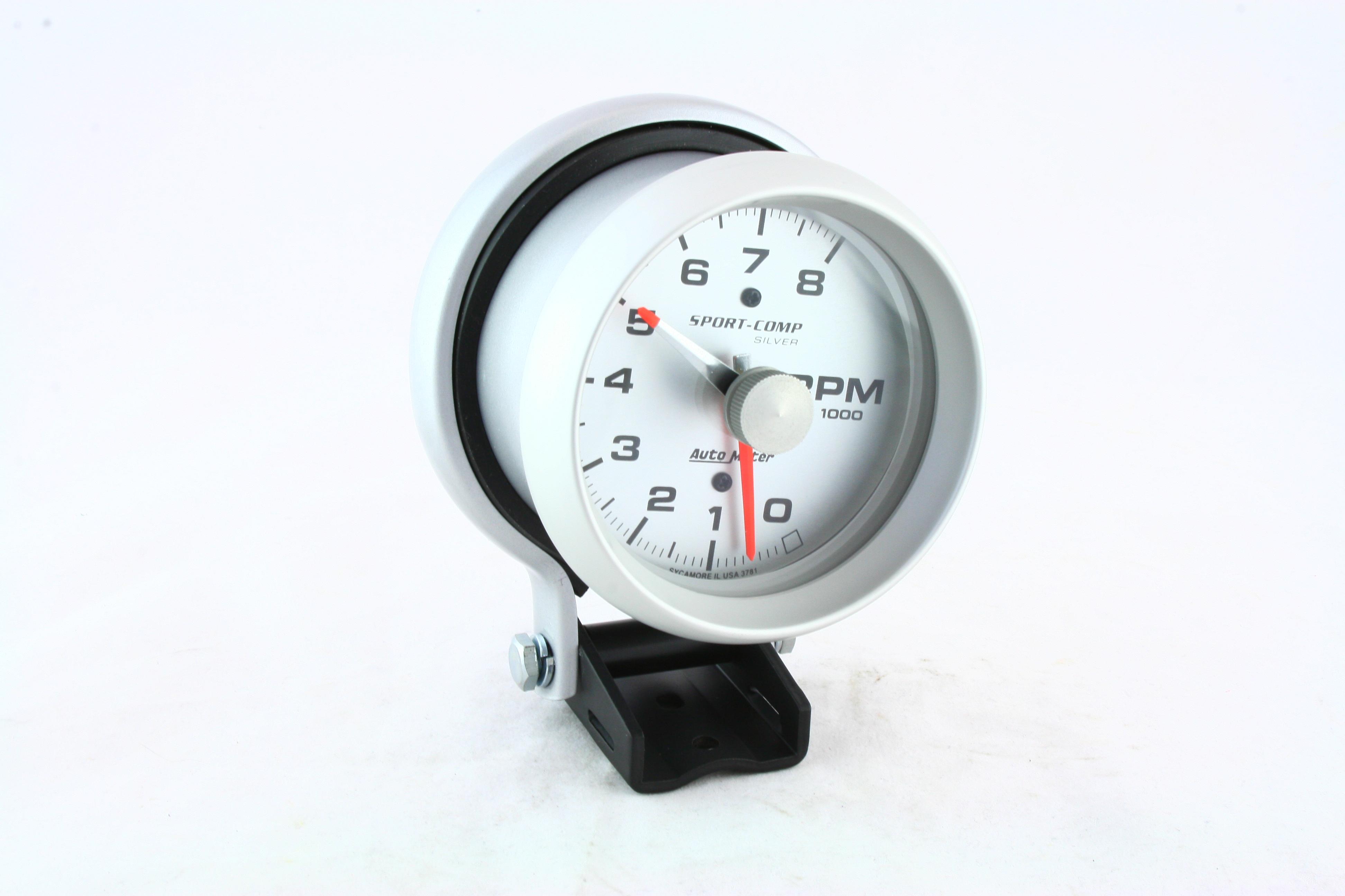 "Autometer 3-3/4"" TACH, 8,000 RPM, SPORT-COMP"