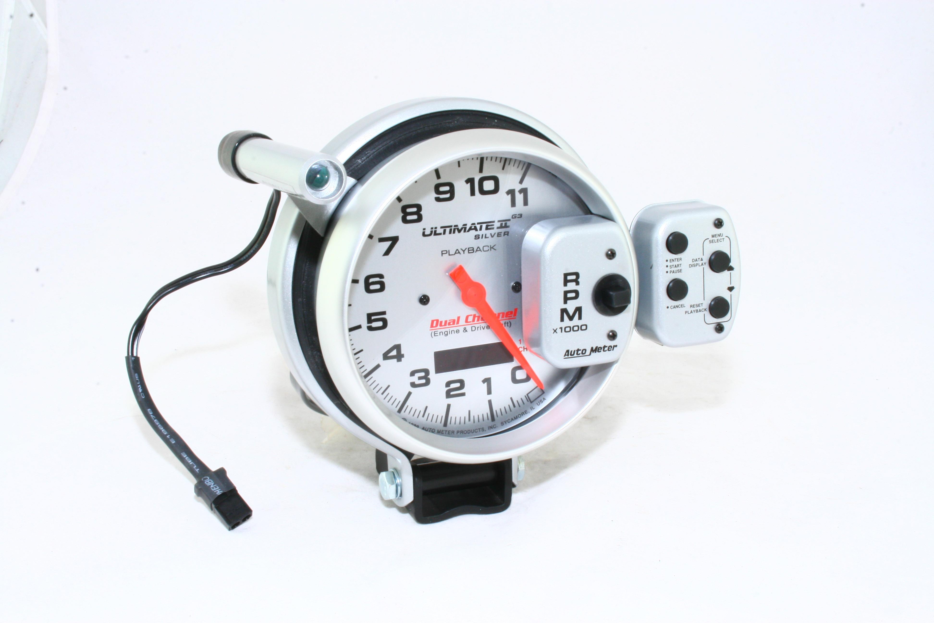 "Autometer 5"" TACH, 11,000 RPM, PRO COMP ULTIMATE"