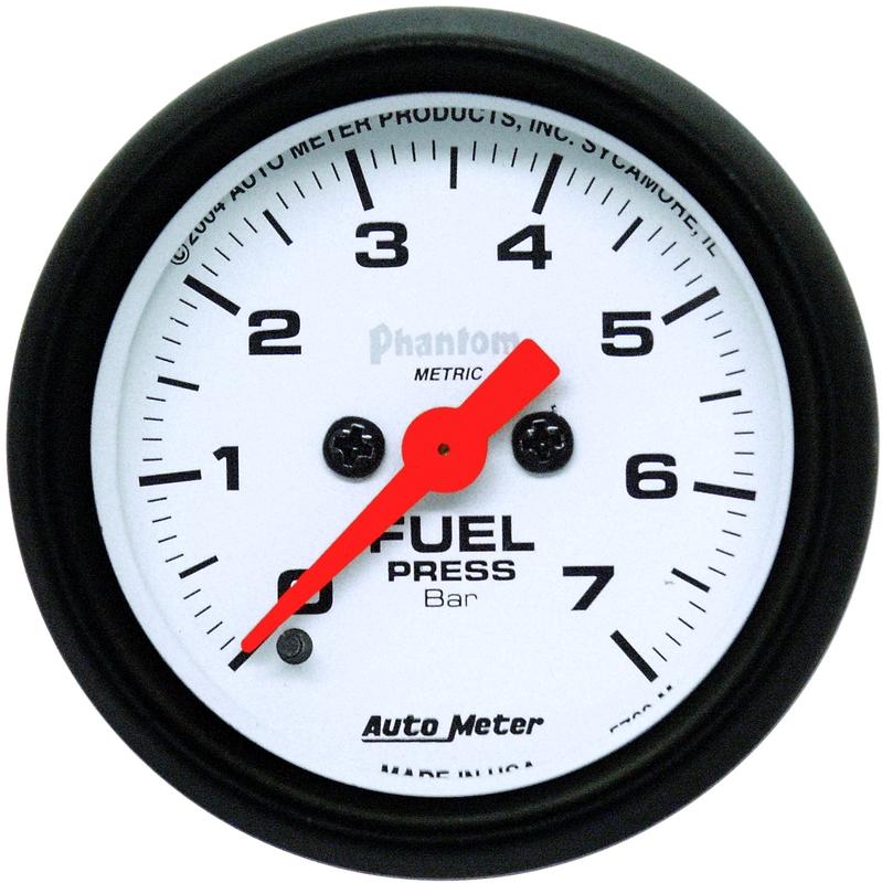 Autometer bränsletrycksmätare Elektrisk , 0-7 Bar