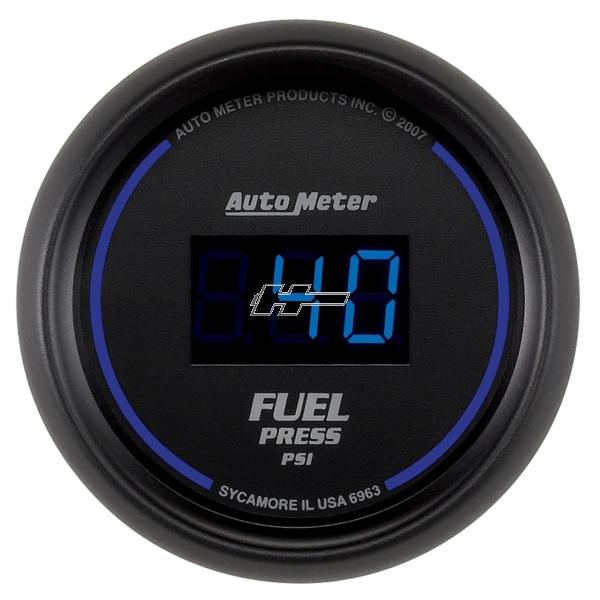 "Autometer 2 1/16"", 0-100 PSI, DIGITAL"