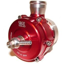 Dumpventil TiAL QR 50mm återcirkulerande - Röd