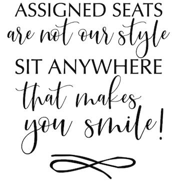 """assigned seats"" vinyltryck 20x21,5cm"