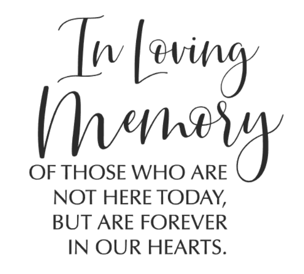 """loving memory "" vinyltryck 10x11 cm"