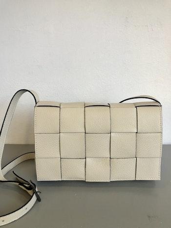 Skinnväska flätad handväska Italien
