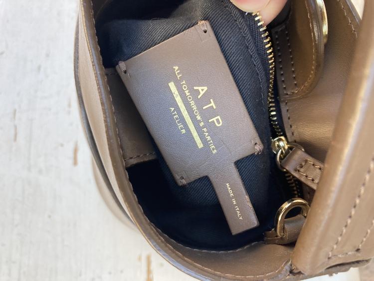 ATP small bucket bag Khaki
