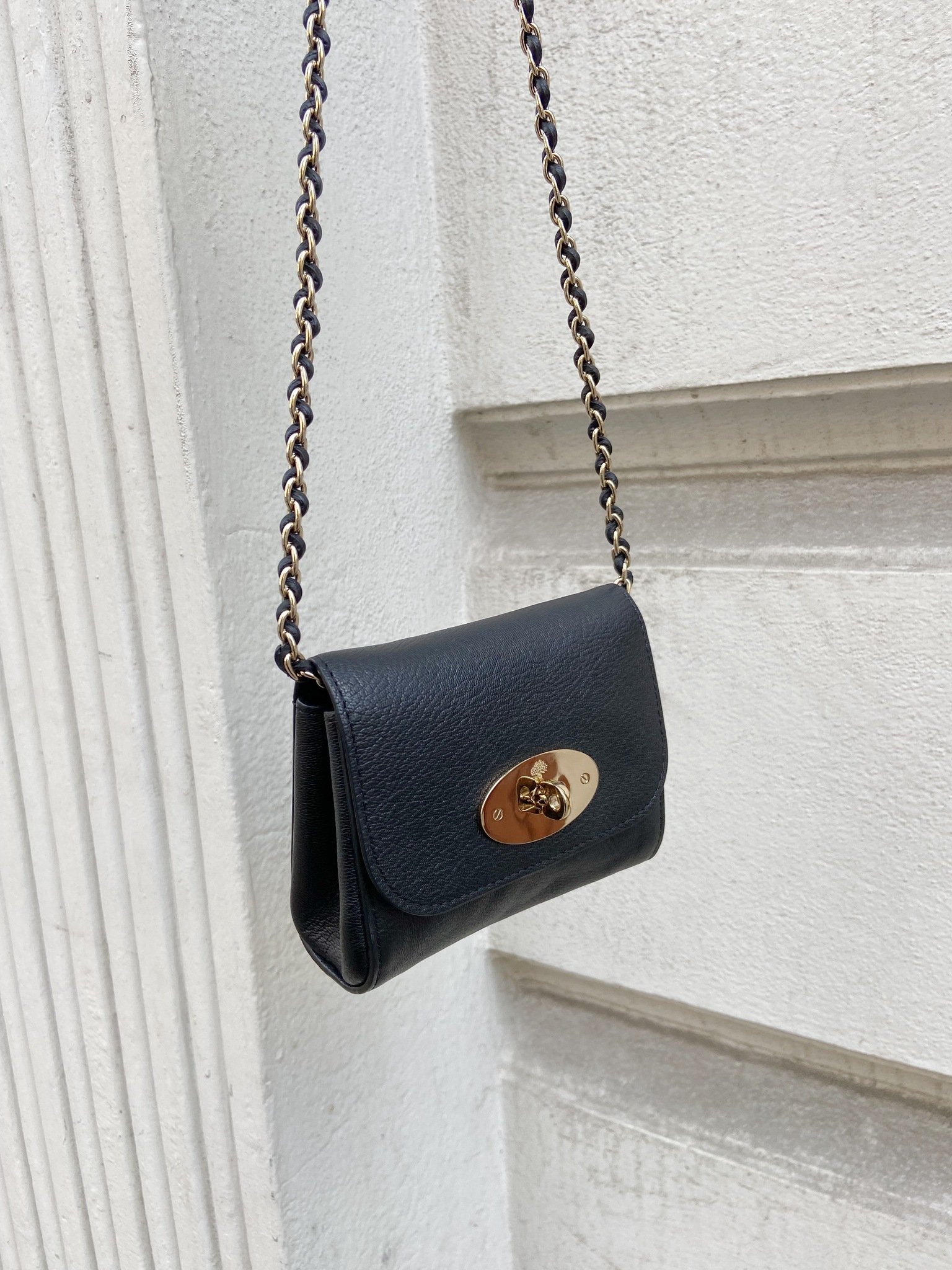 Mulberry mini Lily chain bag