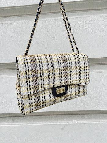 Tweed väska Italien