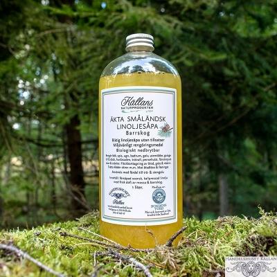 1 liter linoljesåpa - Barrskog