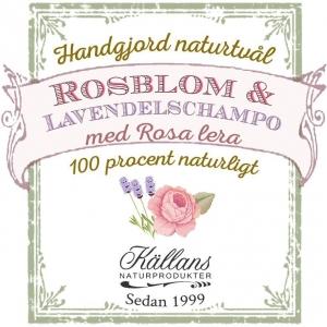 Schampotvål - Ros och Lavendel