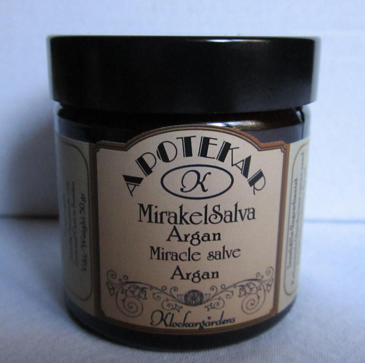 Mirakelsalva med Arganolja - Klockargårdens