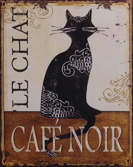 Café Noir - Plåttavla