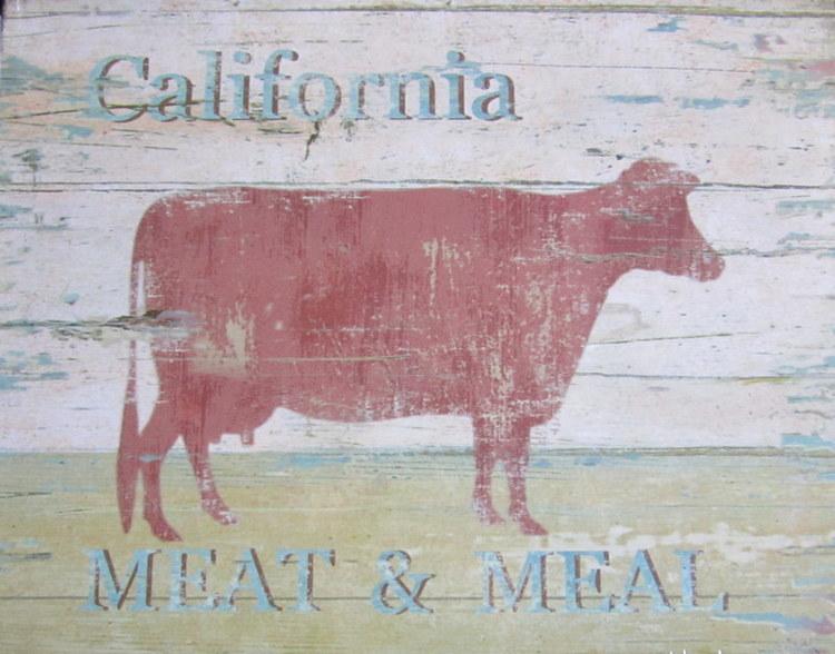 California - Plåttavla