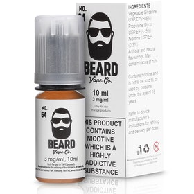 No.64 eLiquid by Beard Vape Co 10ml