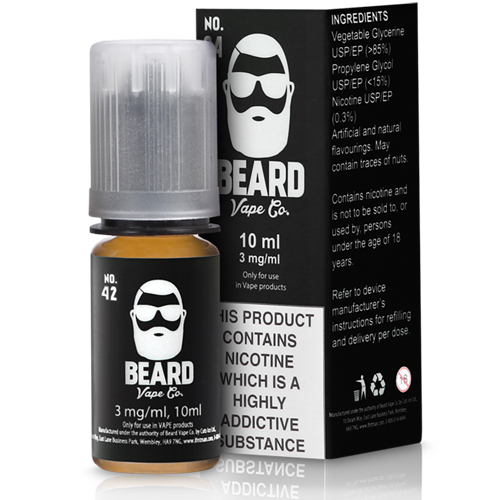 No.42 by Beard Vape Co 10ml