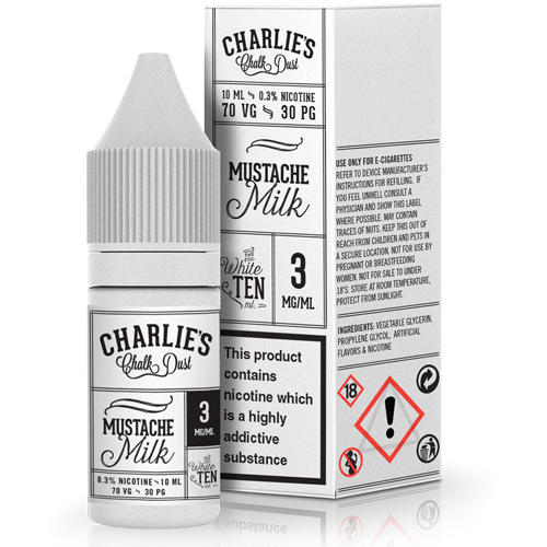 Mustache Milk by Charlie's Chalk Dust 10ml