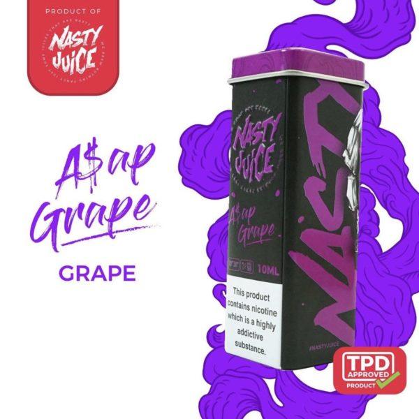 10ml ASAP Grape by Nasty Juice