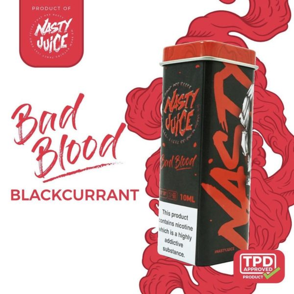 10ml Bad Blood by Nasty Juice