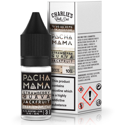 Strawberry, Guava and Jackfruit by Pacha Mama 10ml