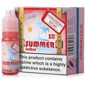 10ml Strawberry Bikini eLiquid by Summer Holidays