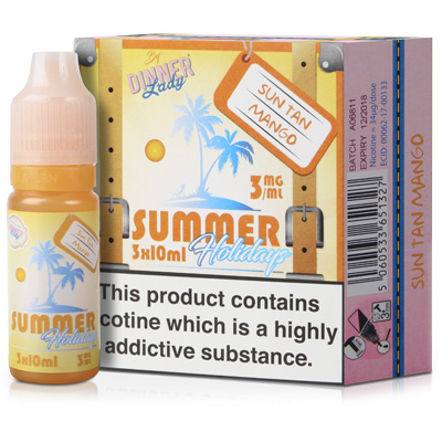10ml Sun Tan Mango by Summer Holidays