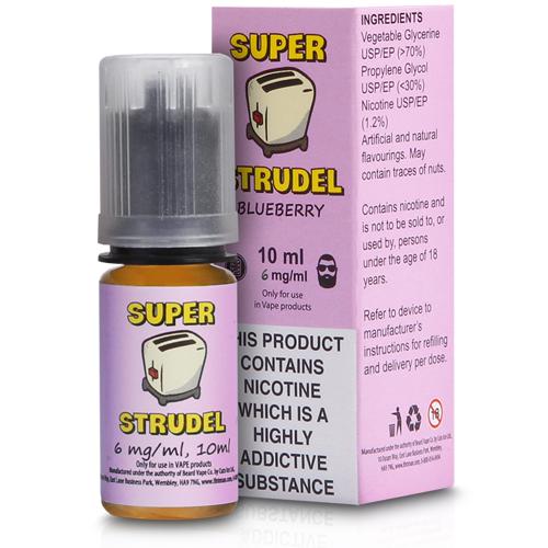 Blueberry Strudel eLiquid by Super Strudel 10ml