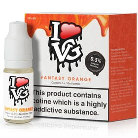 Fantasy Orange by I Like VG 10ml