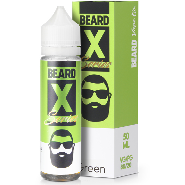 Green eLiquid by Beard Colours 50ML 0MG