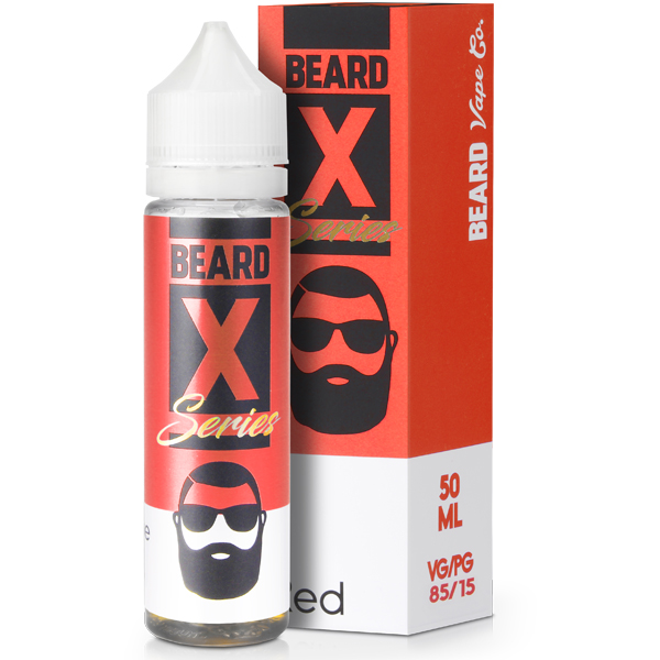 Red eLiquid by Beard Colours 50ML 0MG