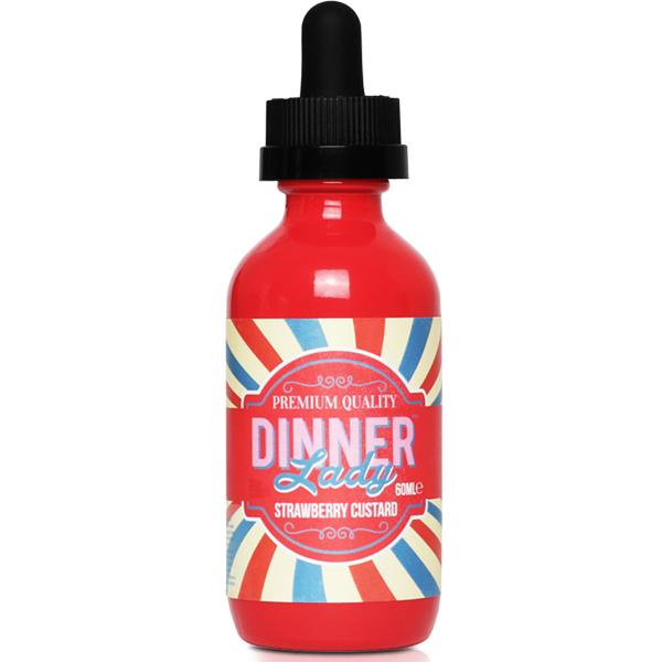 Strawberry Custard by Dinner Lady 50ML 0MG