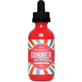 Strawberry Custard by Dinner Lady 50ML 0MG