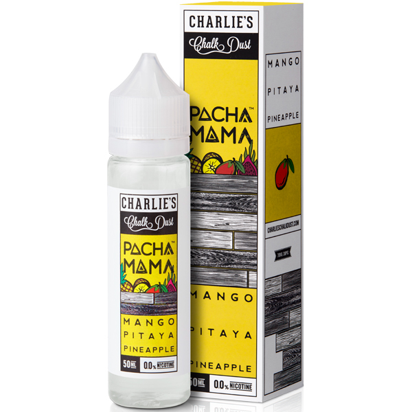 Mango, Pitaya and Pineapple Eliquid by Pacha Mama 50ML 0MG